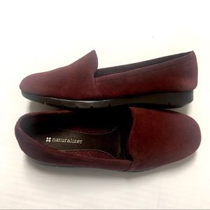 Naturalizer Suede Loafer, 7.5 W